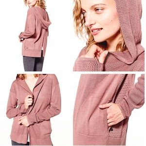 Lululemon Still Movement Wrap in Blush